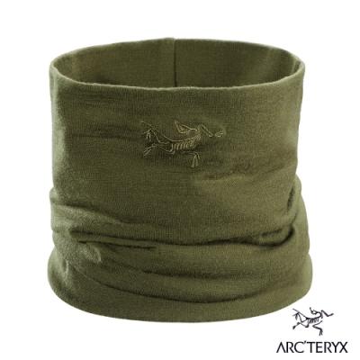 Arcteryx 始祖鳥 Rho LTW 輕量 美麗諾羊毛 多功能圍脖 叢林綠
