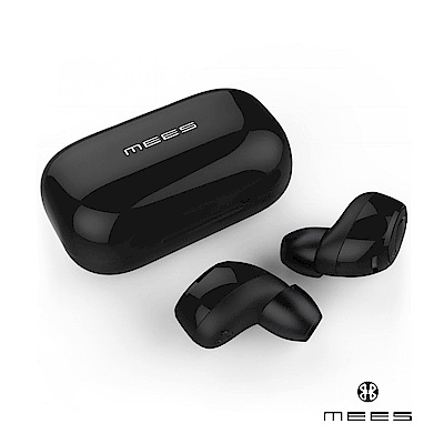 MEES M1 TWS 真無線藍牙耳機 - 鏡面黑