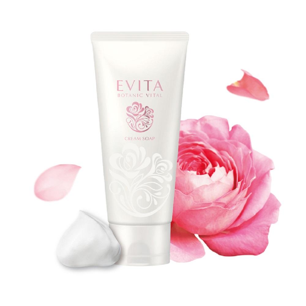 EVITA 粉紅玫瑰淨潤洗顏乳兩件組