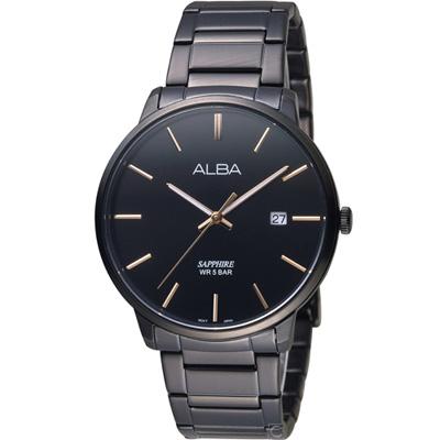 ALBA 雅柏 簡約潮流時尚腕錶(AS9H35X1)40mm