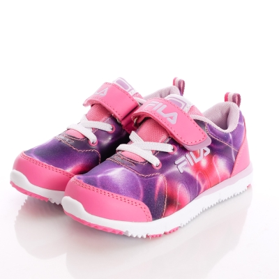 FILA頂級童鞋款-銀河星光慢跑款-824O-292桃紫(中大童段)