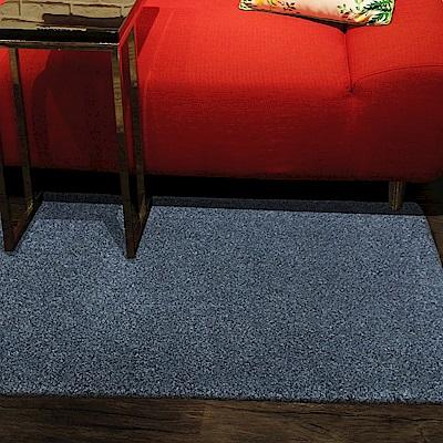 范登伯格 - 露娜 進口仿羊毛踏墊 - 灰藍色 (60 x 115cm)