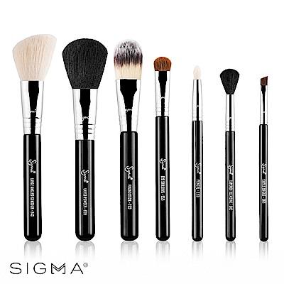 Sigma 刷具7件組(含刷具筒) Essential Travel Brush Set
