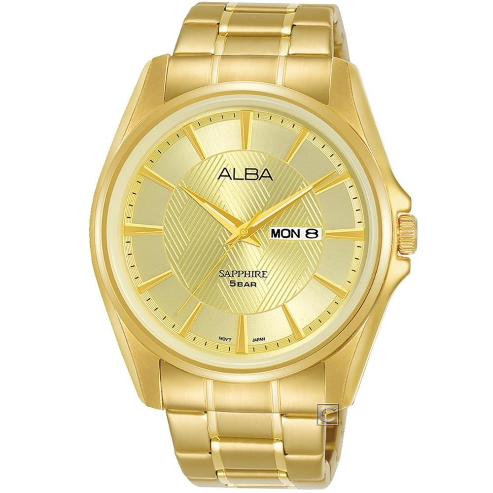 ALBA 雅柏 經典尊爵時尚腕錶(VJ33-X030Y)AJ6094X1