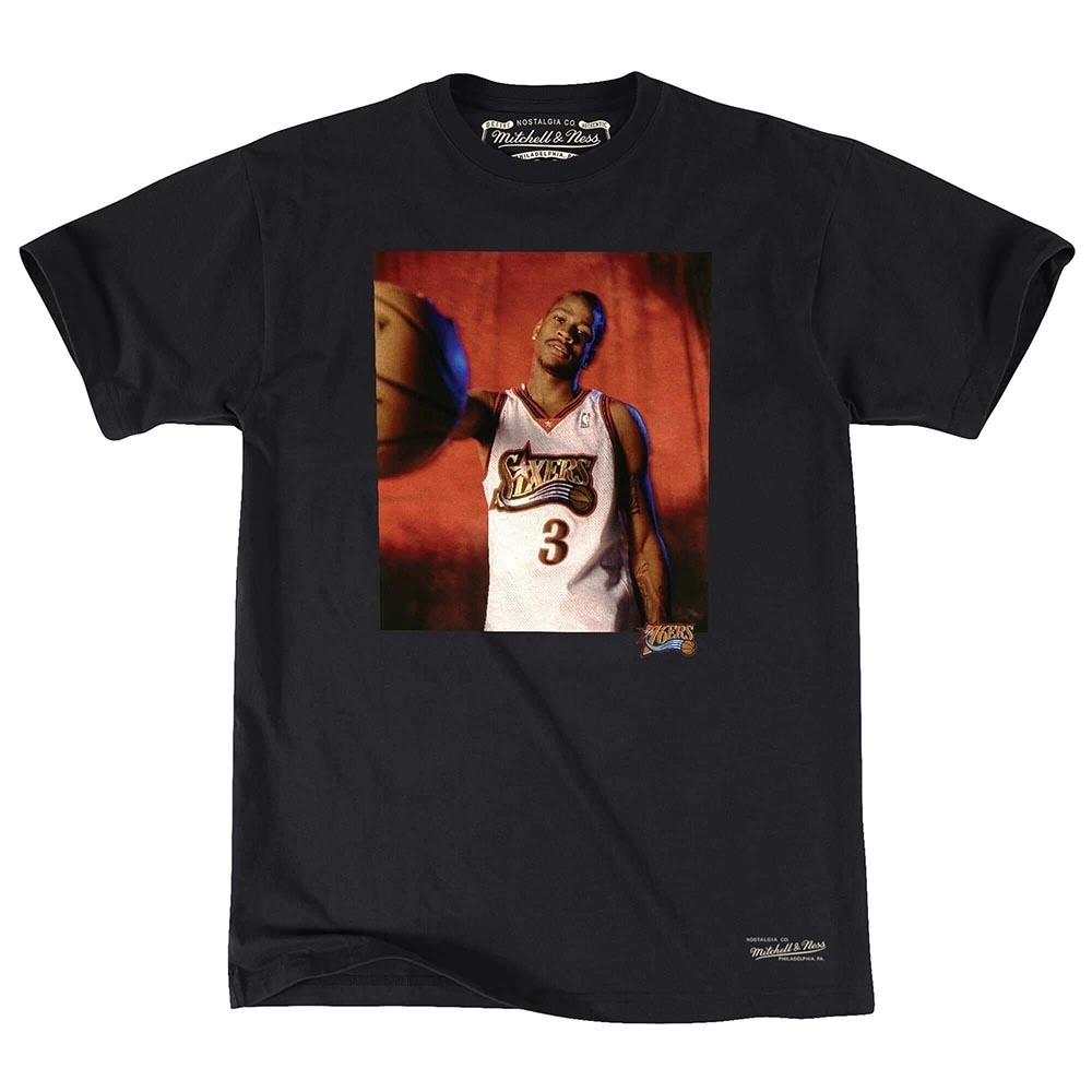M&N NBA Off Court 短袖T恤 76人 Allen Iverson product image 1