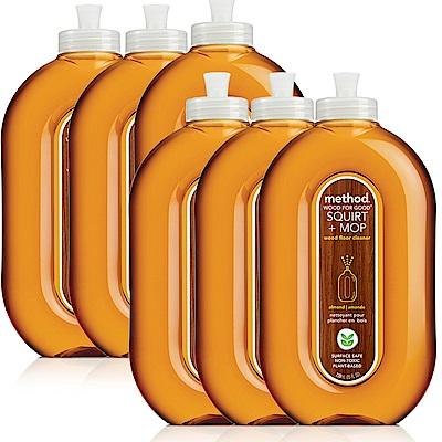 (歲末年終 福利品)Method 美則 木質地板保養清潔劑 739ml*6罐