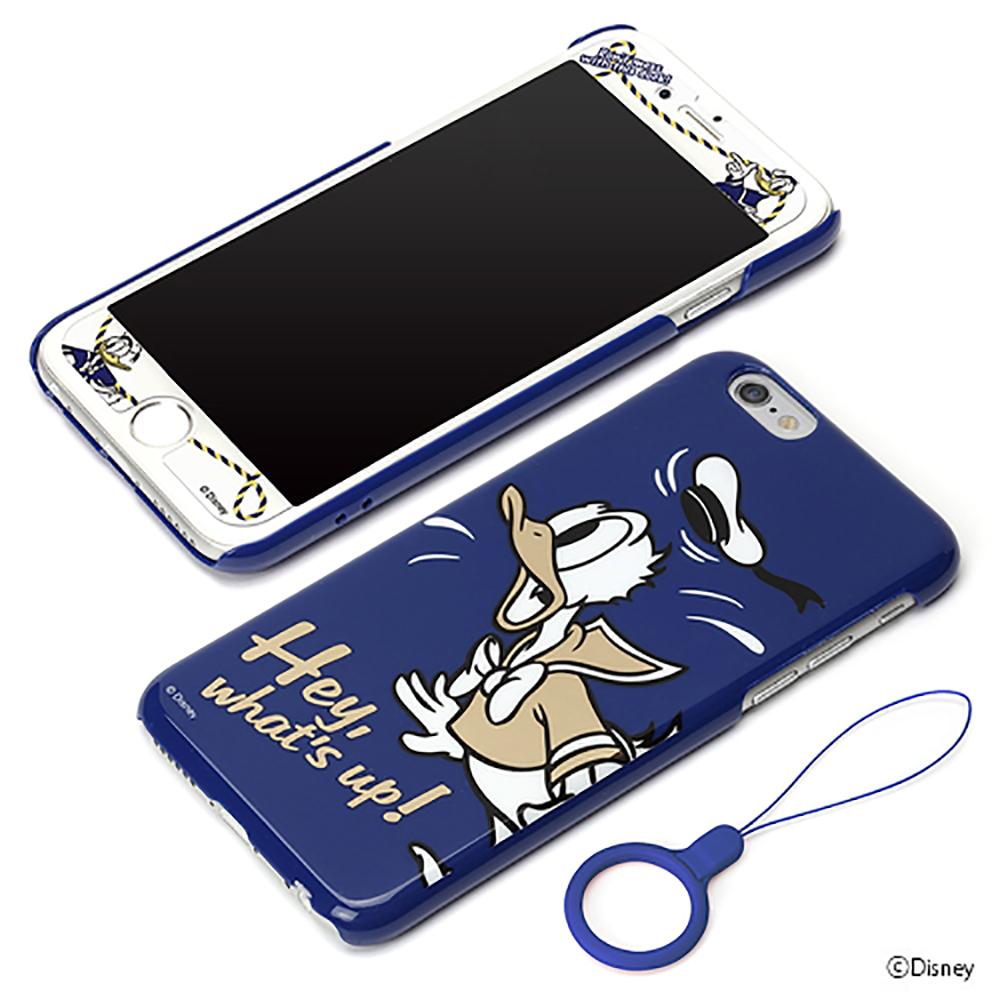 PGA iPhone 6S/6 4.7吋 迪士尼 唐老鴨 歡樂 背蓋+保護貼套組