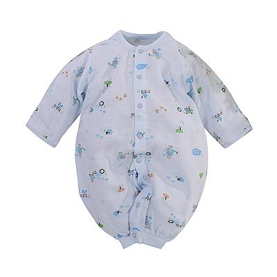 薄款純棉紗布兩用護手連身衣 b0173 魔法Baby