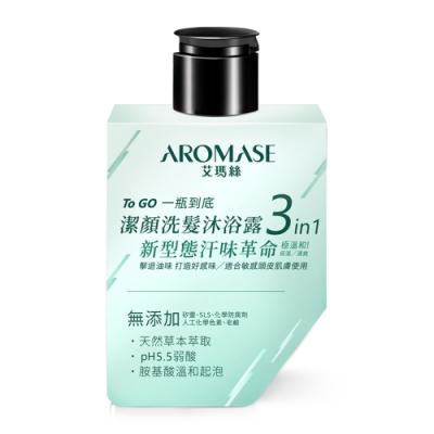 AROMASE艾瑪絲 5α捷利爾洗髮沐浴潔淨露3in1 80ml