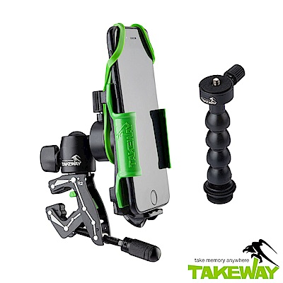 TAKEWAY  R2運動夾套裝組 (含蛇頸/手機/GoPro接座) TCK303