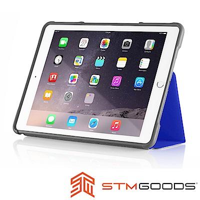 澳洲STM Dux iPad Air 2 軍規防摔殼 - 藍