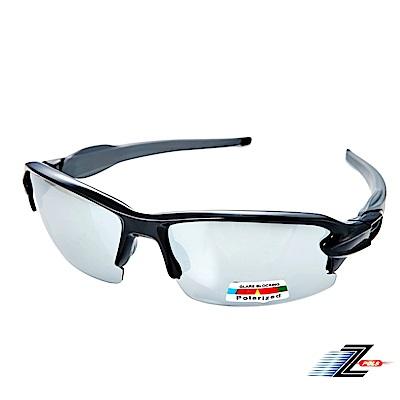 【Z-POLS】超舒適配戴感質感黑設計 Polarized強抗UV400水銀偏光眼鏡