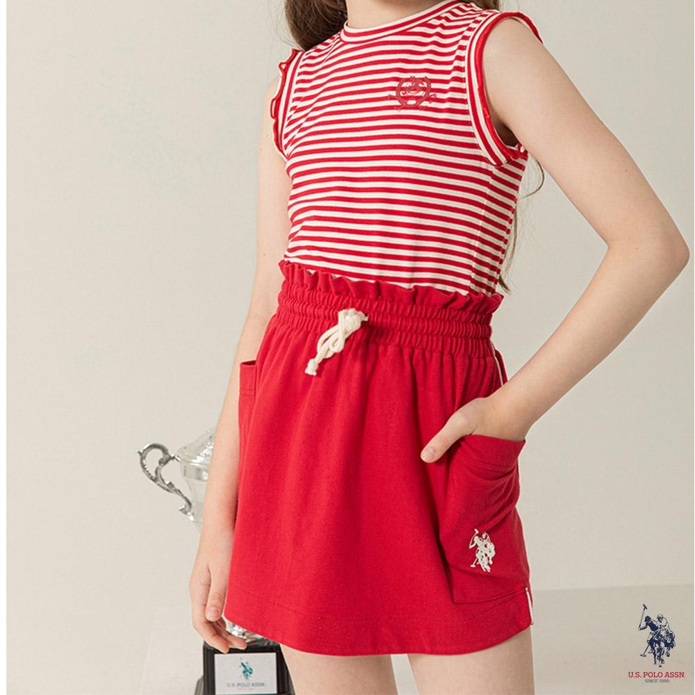 U.S. POLO ASSN.女童時尚褲裙-兩色任選