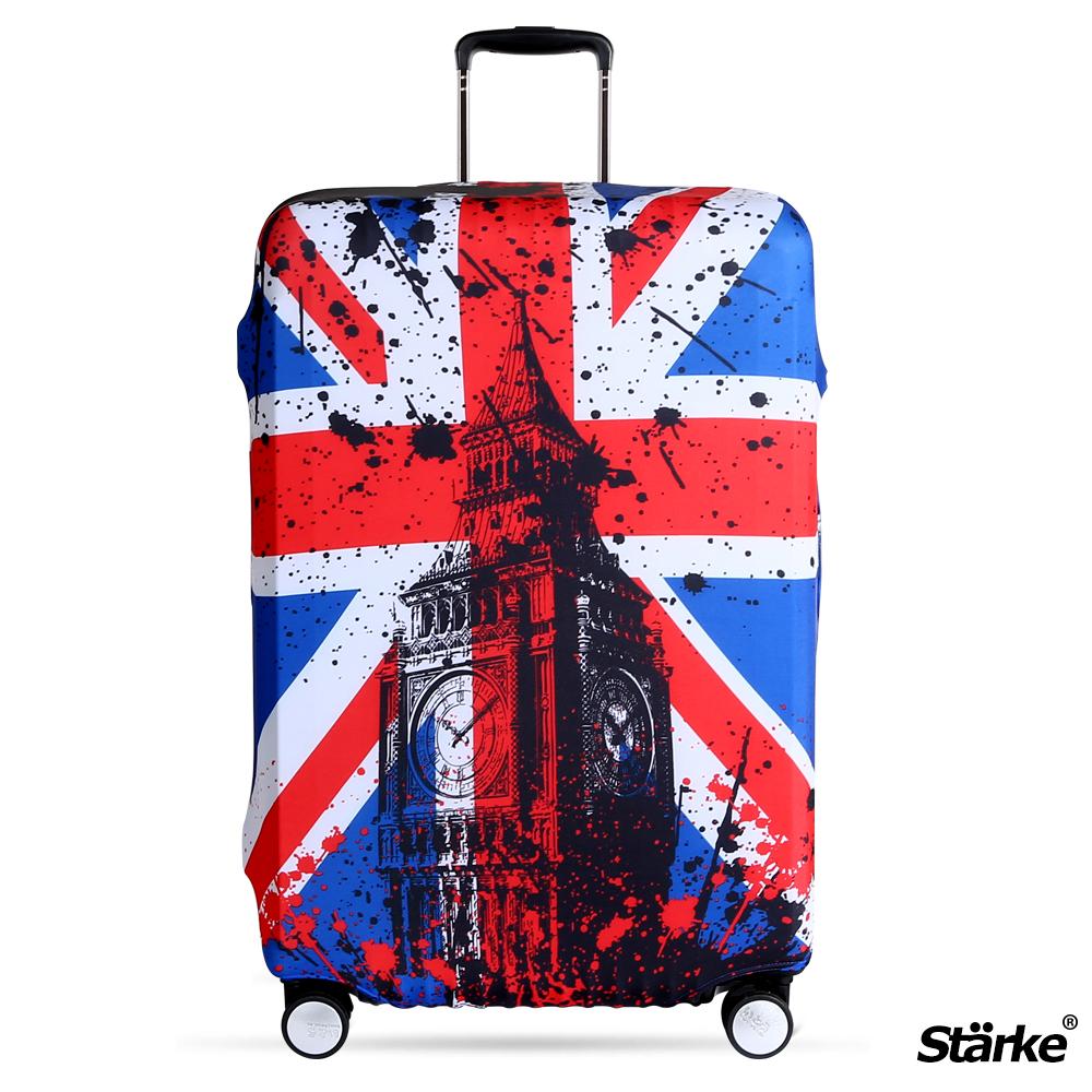 Starke 26-29吋高彈性行李箱套 -倫敦國旗