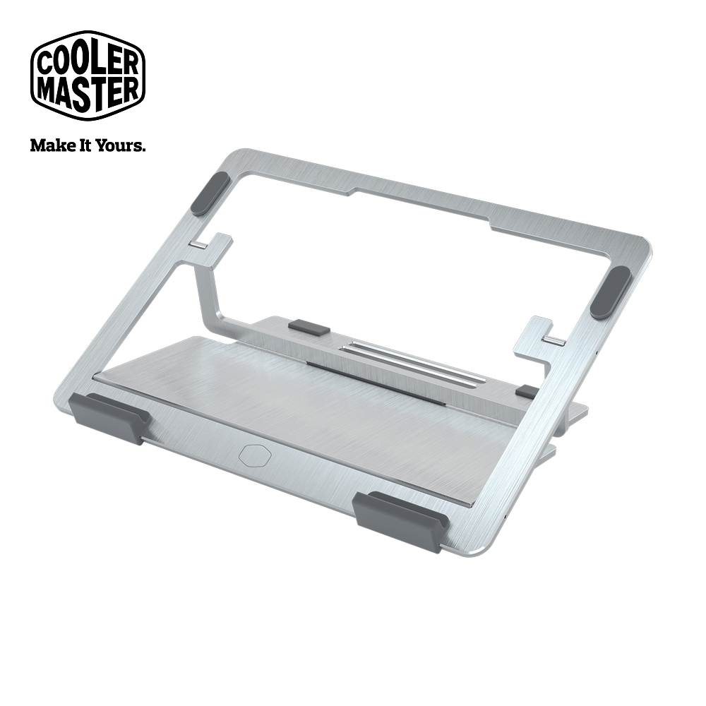 Cooler Master Ergostand AIR 支架型筆電散熱墊 銀色
