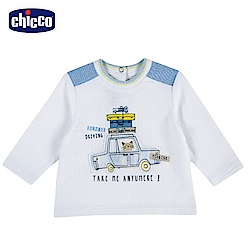 chicco-車車旅遊趣-長袖上衣