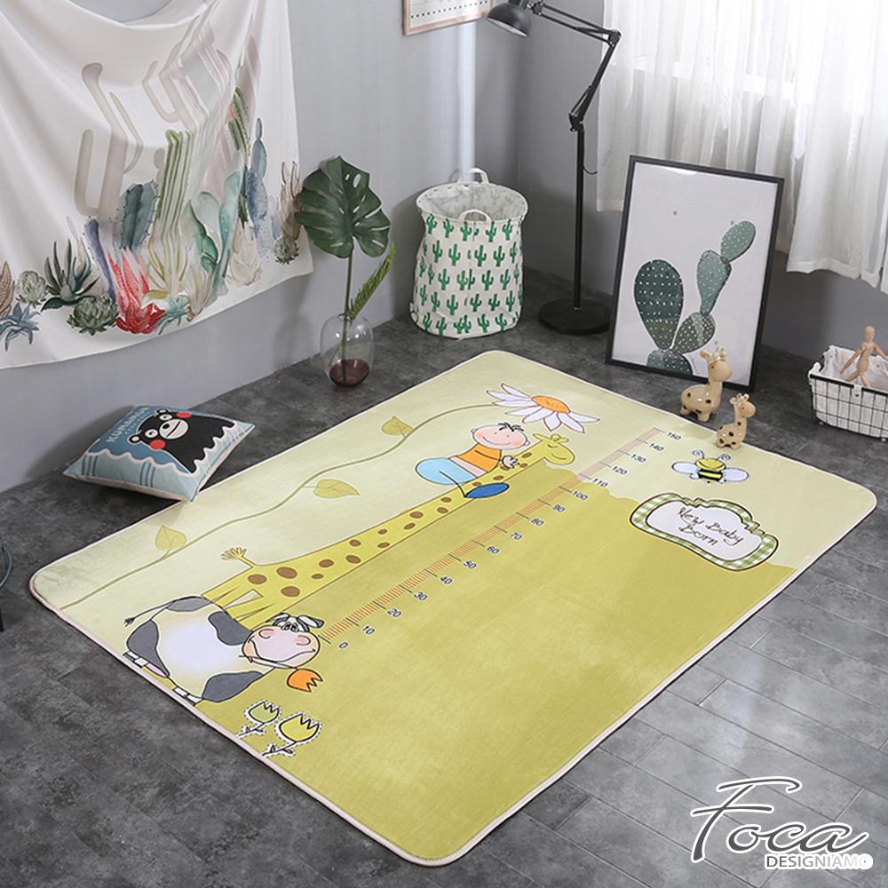 FOCA疊疊高  北歐簡約-100%云芙絨透氣多功能地墊-韓國設計(遊戲墊/床鋪墊)