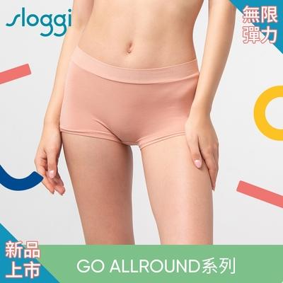 sloggi GO Allround全方位無限彈力系列 中腰平口褲 甜橙蜜桃 87-2226 20