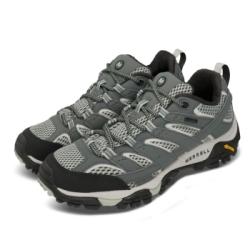 Merrell 戶外鞋 Moab 2 GTX 運動 女鞋 登山 越野 耐磨 黃金大底 防潑水 穩定 綠 米 ML033468
