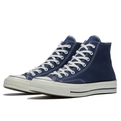 CONVERSE 1970 男女款 高筒帆布鞋-靛(深藍) 164945C