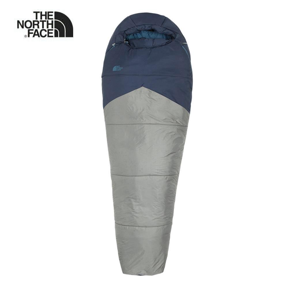 The North Face北面男女款藍灰色舒適保暖睡袋|2SBPT7K