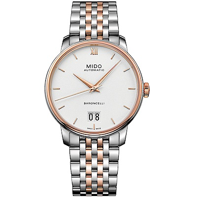 MIDO美度BARONCELLI永恆系列III經典機械腕錶(M0274262201800)