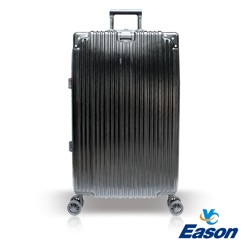 YC Eason 古典29吋鋁框避震行李箱 黑色