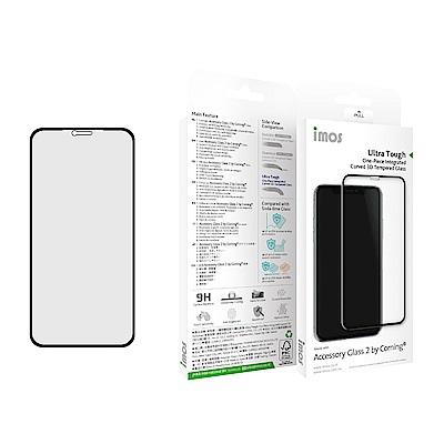 iMOS Apple iPhone X/Xs 熱彎3D 擴孔美觀版 玻璃螢幕保護貼