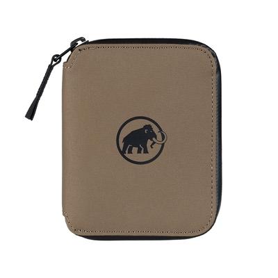 【Mammut】Seon Zip Wallet 休閒拉鍊短夾 深土棕 #2810-00081