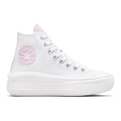 CONVERSE CTAS MOVE 高筒 休閒鞋 女鞋 白粉色-571577C