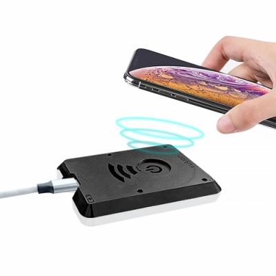 【O-ONE】風行MFI無線充電器 Qi無線充電盤 輕薄 白色 iPhone/三星