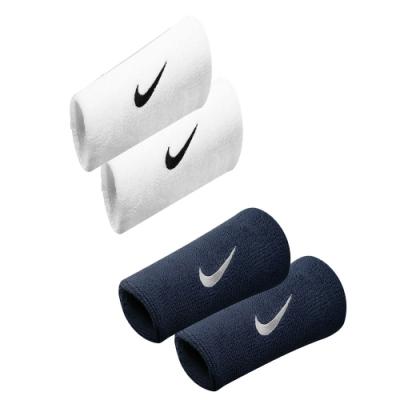 NIKE 運動 訓練 路跑 單色加長腕帶深藍/白勾 NNN05416OS