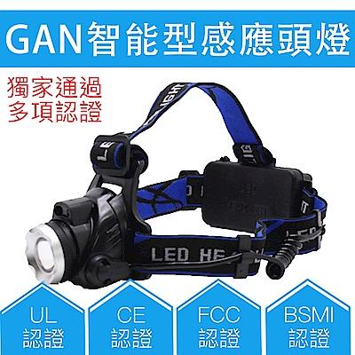台灣商檢合格 XM-L2紅外線感應頭燈 強光 伸縮變焦調光 CREE 工地露營 颱風地震