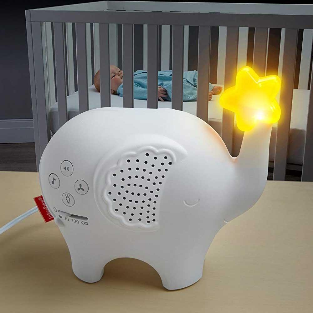 美國 費雪 Fisher Price 小象夜燈(0-3Y)