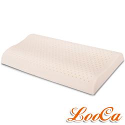 LooCa 加強透氣型工學乳膠枕-小童枕(1入)