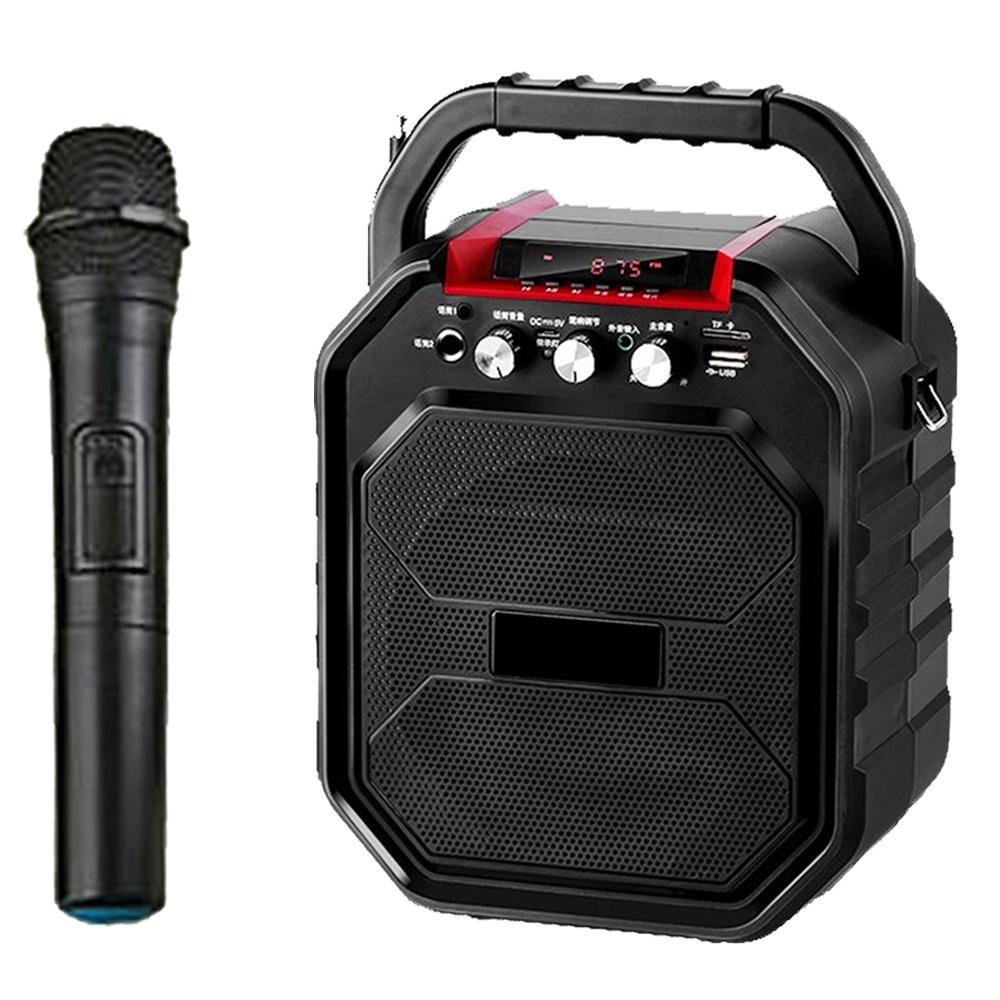 大聲公樂樂型無線式多功能行動音箱/喇叭 (單手持麥克風組)