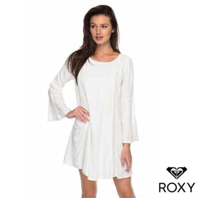 【ROXY】EAST COAST DREAMER 洋裝 白色