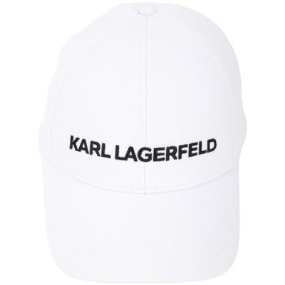 [時時樂限定]KARL LAGERFELD 老佛爺棒球帽