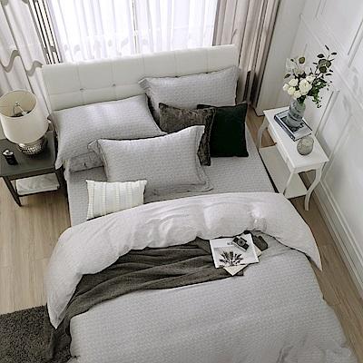鴻宇 雙人床包薄被套組 天絲300織 賽維爾 台灣製