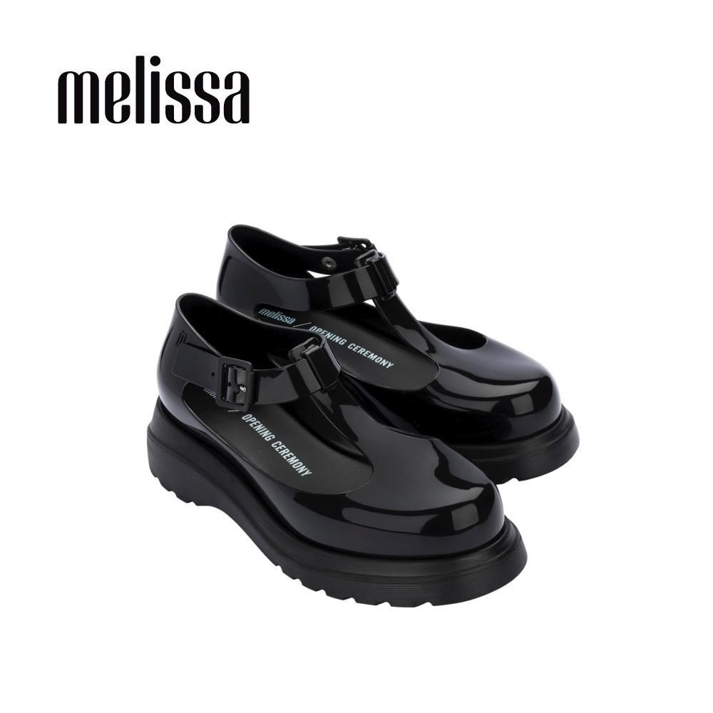 Melissa x Opening Ceremony BLOCK T字簍空休閒鞋-黑