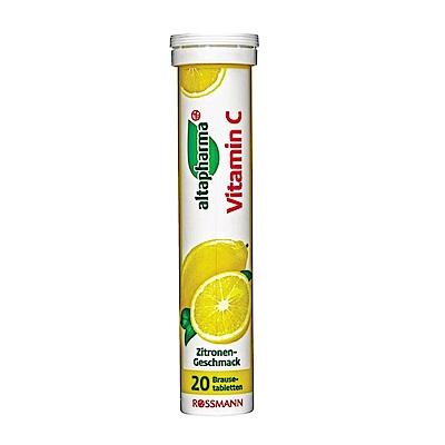 ROSSMANN 德國發泡錠-維生素C(檸檬口味) 20錠/條