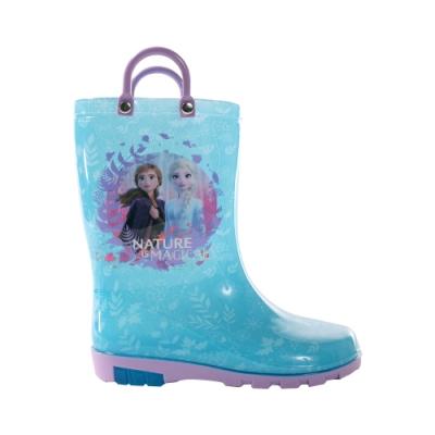 台灣製迪士尼冰雪奇緣長筒雨鞋 sa04606 魔法Baby