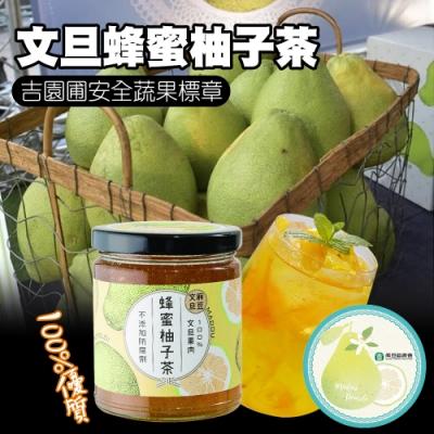 【麻豆農會】文旦蜂蜜柚子茶(300gx2罐)