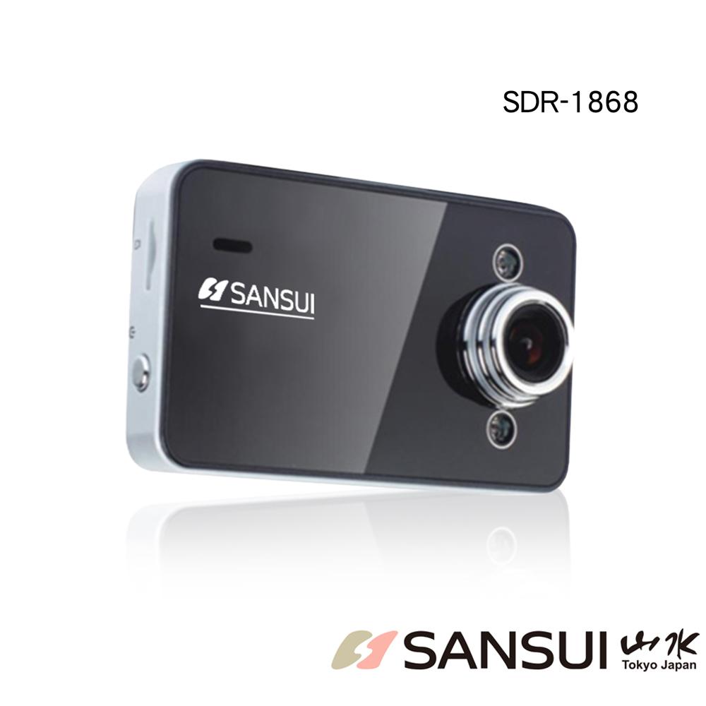 【SANSUI 山水】2.7吋120廣角鏡頭行車記錄器/HD720P (SDR-1868) @ Y!購物