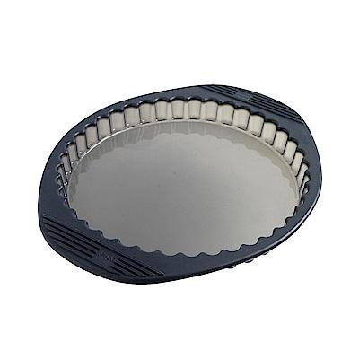 法國mastrad 派塔盤(透明灰)