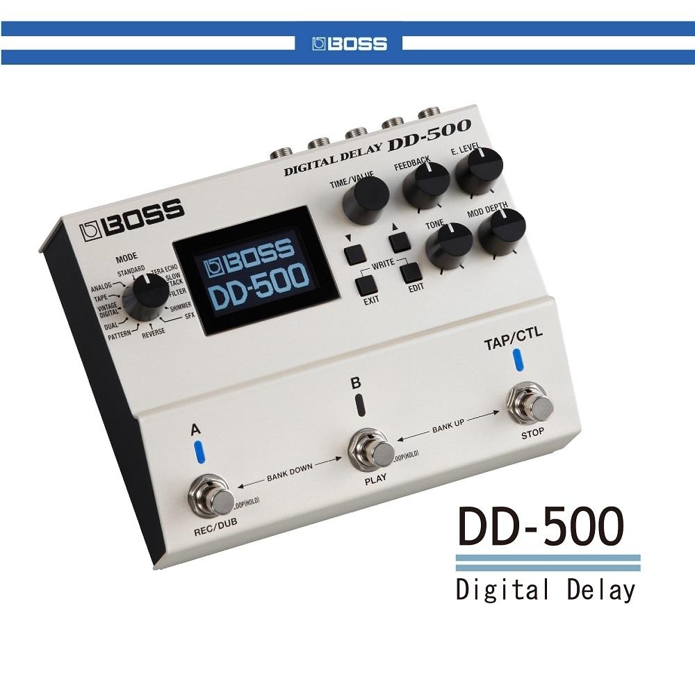 BOSS DD-500 延遲效果器