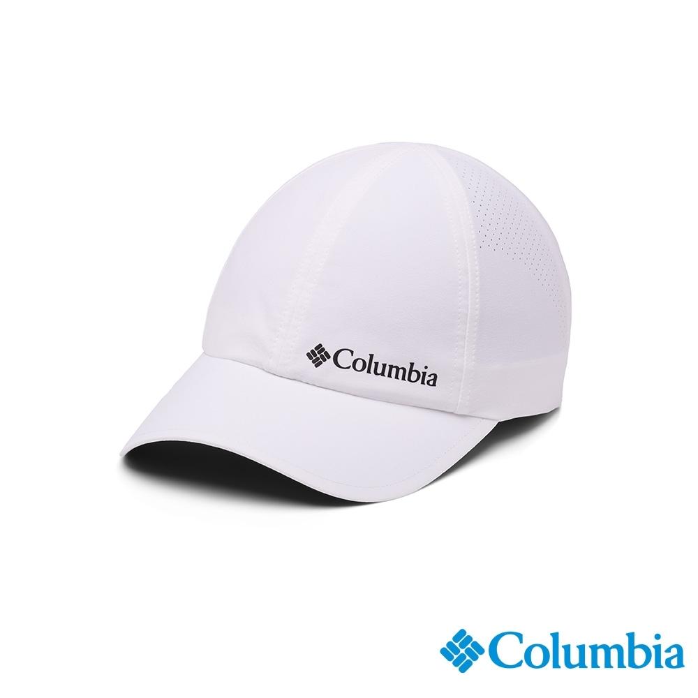 Columbia 哥倫比亞 中性 - UPF50 防潑快排棒球帽-白色 UCU01290WT