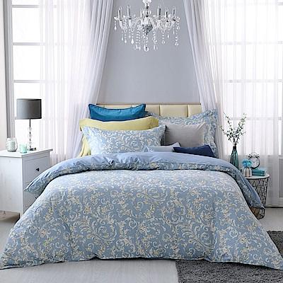 BBL Premium 米迦勒100%精梳棉印花兩用被床包組(特大)