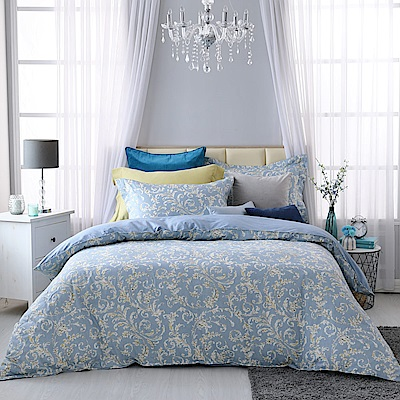 BBL Premium 米迦勒100%精梳棉印花兩用被床包組(雙人)