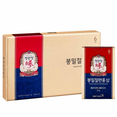 折價券220【正官庄】蜂蜜切片(20g*6入) /盒